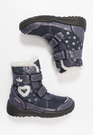 ANTONIA - Winter boots - marine/silber