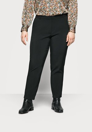 CARVILDAS CIGARETTE PANT - Trousers - black