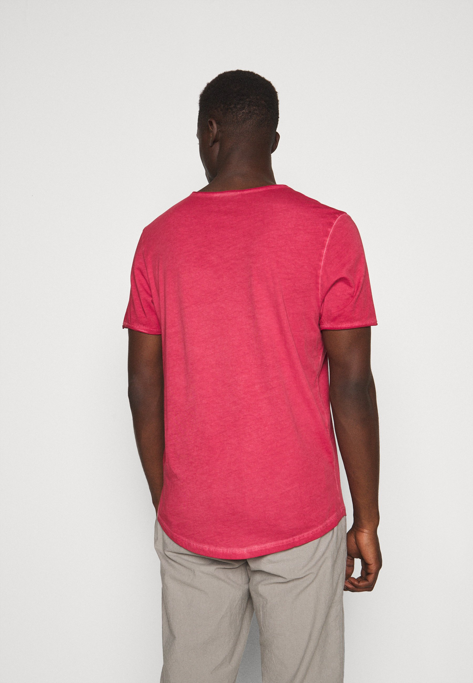 JOOP! Jeans CLARK - Basic T-shirt - red 0XzGd