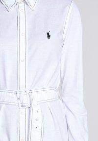 Polo Ralph Lauren - HEIDI LONG SLEEVE CASUAL DRESS - Hverdagskjoler - white - 6