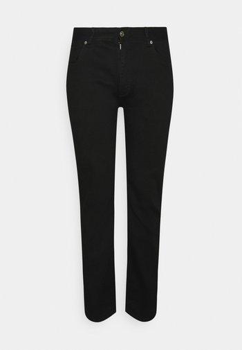 HUNTER SUPERFLEX - Slim fit jeans - black