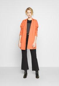 Opus - HELEN STRUCTURE - Short coat - fresh coral - 1