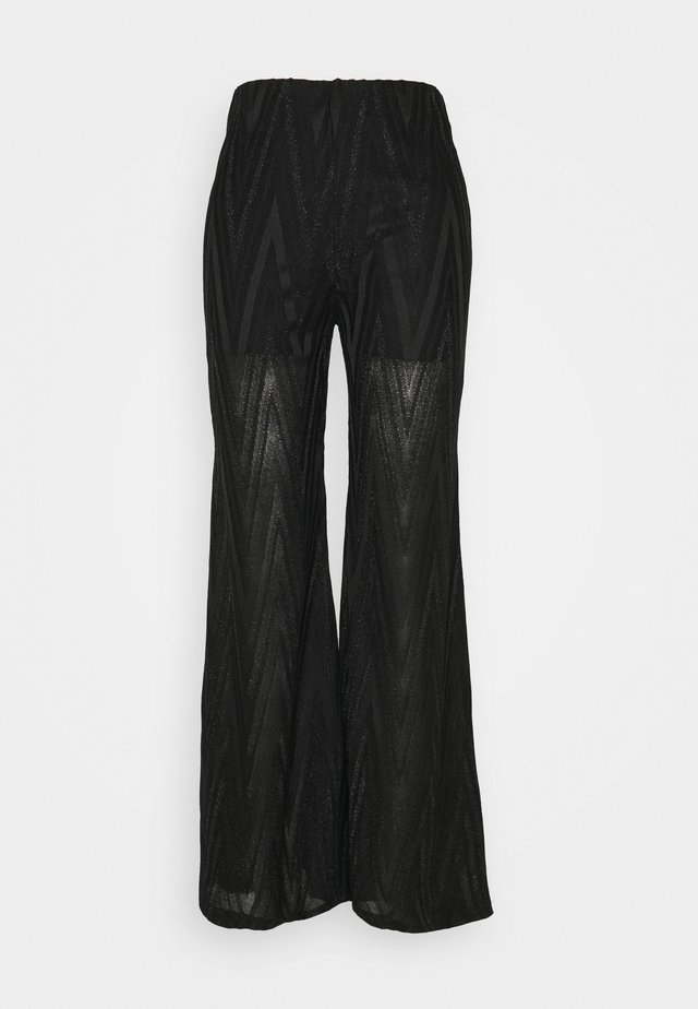 TROUSERS - Pantaloni - black