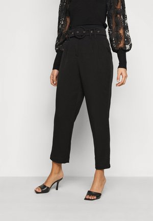 YASRUSTICA ANKLE PANT - Trousers - black