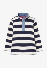 Tom Joule - Sweatshirt - marineblau cremefarben streifen - 0