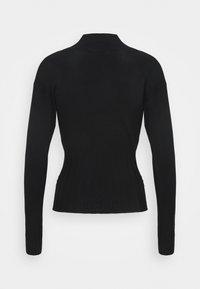 Marks & Spencer London - DEEP CUFF FUNN - Pullover - black - 1
