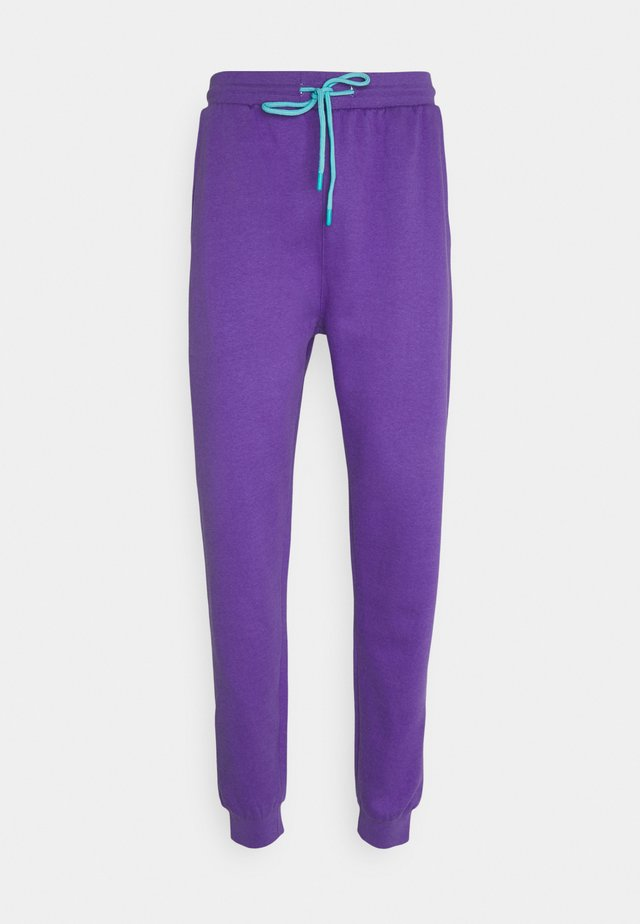 COLOUR POP RELAXED JOGGER UNISEX - Verryttelyhousut - purple