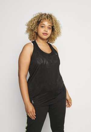 ONPMADON TRAINING CURVY - Sports shirt - black