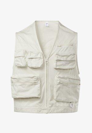 CLASSICS VECTOR FISHING - Waistcoat - white