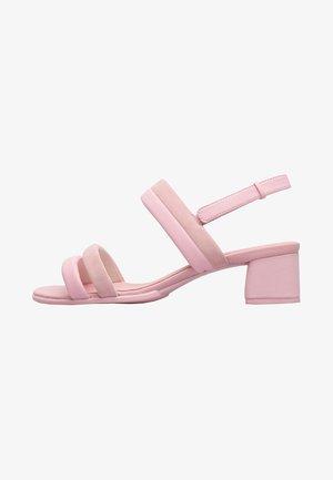 KATIE - Sandaalit nilkkaremmillä - pink