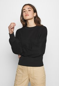 ONLY - ONLLINA  HIGHNECK  - Sweatshirt - black - 0