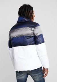 Antony Morato - COAT WITH STRIPES AND DETACHABLE HOOD - Winter jacket - white - 3
