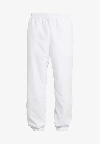 TENNIS PANT - Pantalones deportivos - white