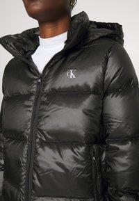 Calvin Klein Jeans - SHINY PUFFER - Down jacket - black - 5
