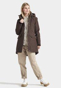 Didriksons - SANNA - Winter coat - coffe brown - 1