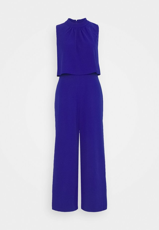 HIGH NECK POPOVER - Jumpsuit - ultramarine