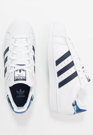 SUPERSTAR  - Trainers - footwear white/collegiate navy