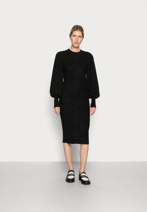 RACHELLE DRESS - Neulemekko - black