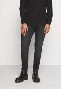 Tommy Jeans - MILES - Slim fit jeans - max black - 0