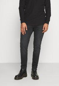 Tommy Jeans - MILES - Slim fit jeans - max black - 0