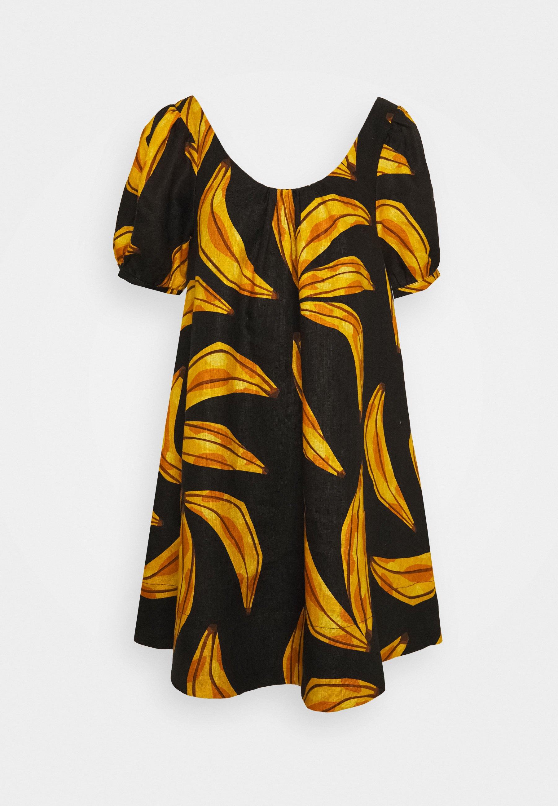 Women RIPE BANANAS MINI DRESS - Day dress
