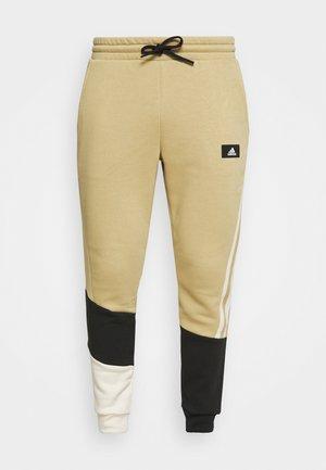 COLORBLOCK SEASONAL - Pantaloni sportivi - beige tone/white
