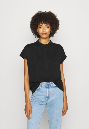 KATOKWE - Button-down blouse - black