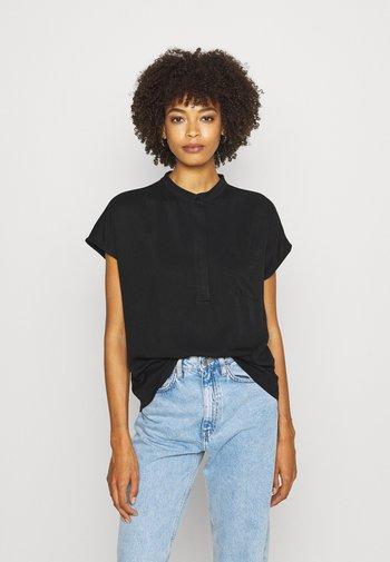 KATOKWE - Button-down blouse - black