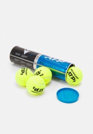 ATP 4 PACK UNISEX - Tenisový míček - gelb