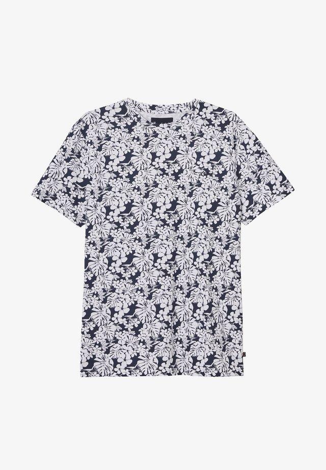 DANIEL - T-shirt imprimé - navy blazer