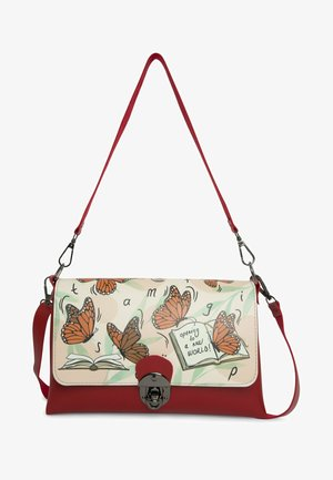 THE BOOK AND BUTTERFLIES - Across body bag - multicolor