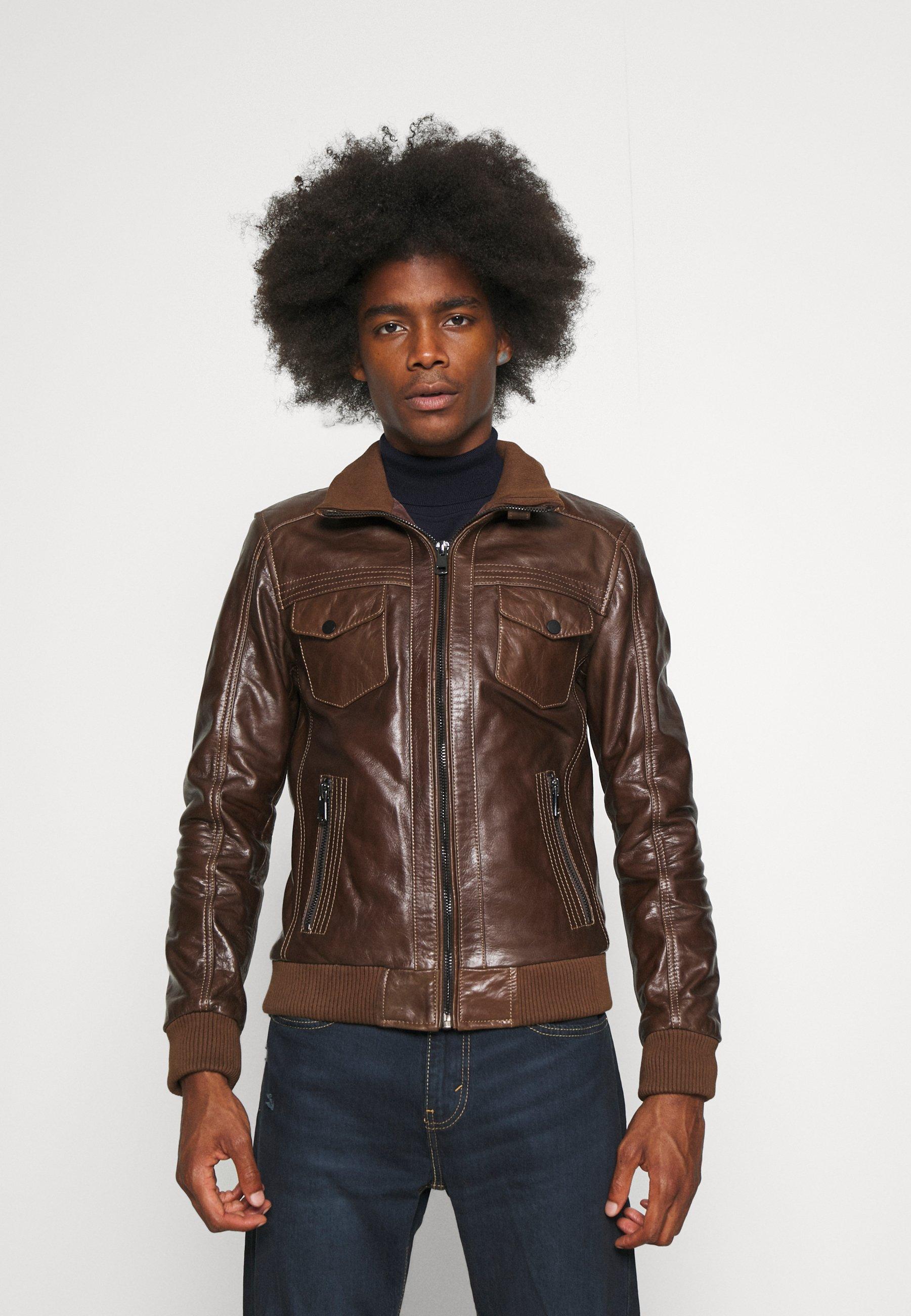 Men TORNADE - Leather jacket