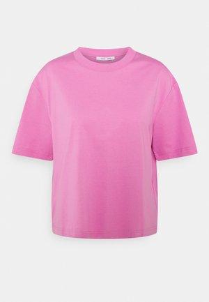 CHROME - Jednoduché triko - bubble gum pink