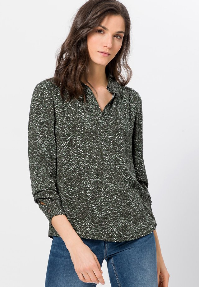Blouse - olive green