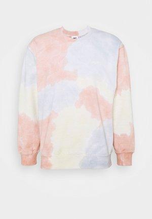SUSTAINABLE TIE DYE CREW - Sweatshirt - multi coloured