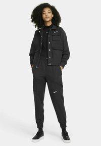 Nike Sportswear - MOCK - Topper langermet - black - 1