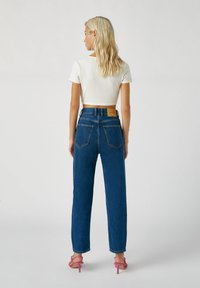 PULL&BEAR - Straight leg jeans - stone blue denim - 2
