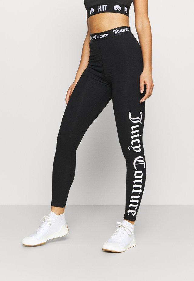 CHARLOTTE LEGGINGS - Collants - black