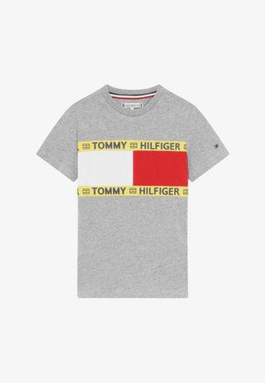 FLAG - Print T-shirt - grey