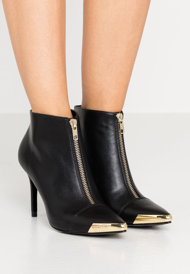 Versace Jeans Couture - ZIP STILETTO  - High heeled ankle boots - nero