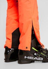 Superdry - PRO RACER RESCUE PANT - Täckbyxor - hazard orange - 7