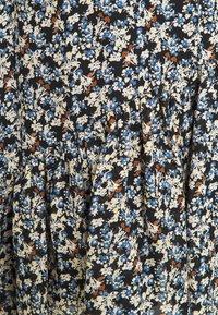 Marc O'Polo - DRESS FLUENT SHORT STYLE V NECK - Robe d'été - multi - 2
