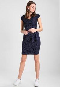 9Fashion - HOLLY NEW - Jersey dress - dark blue - 1