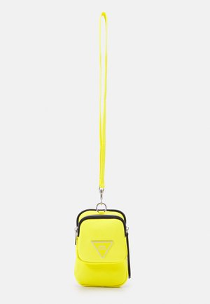 Across body bag - yellow bright