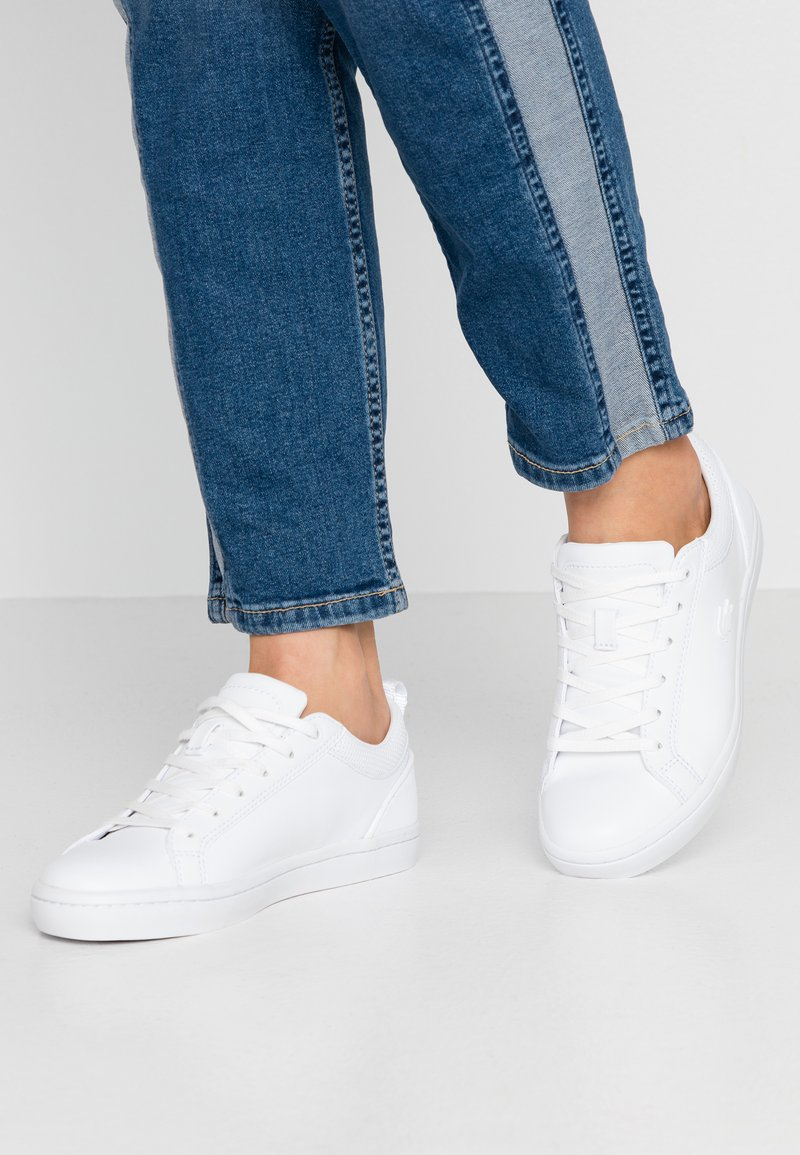 Lacoste - STRAIGHTSET  - Sneakers - white