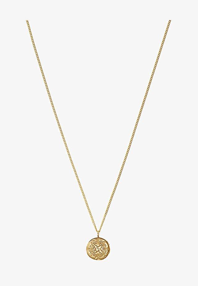 MIT KOMPASS - Halskette - gelbgold-coloured