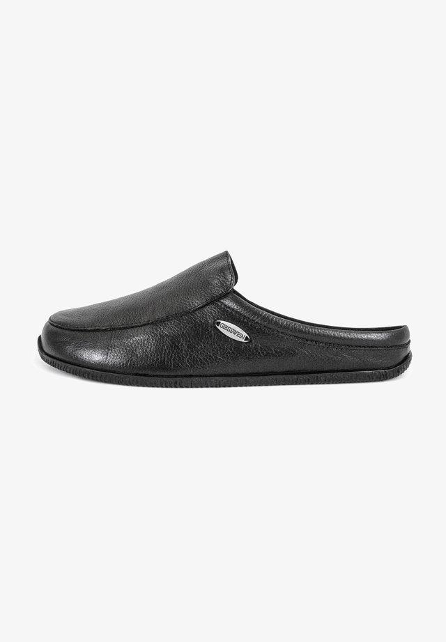HAUSSCHUH MANTA - Pantoffels - schwarz