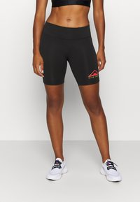 Nike Performance - FAST SHORT TRAIL - Leggings - black - 0