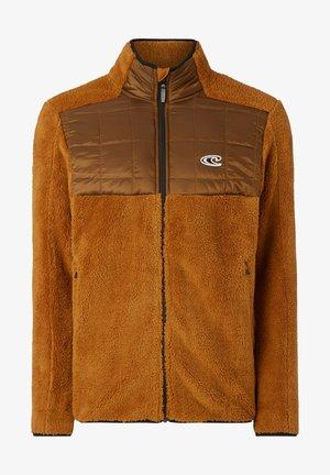 BAFFLE  - Fleece jacket - glazed ginger