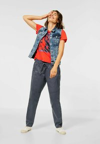 Cecil - CASUAL FIT HOSE - Trousers - grau - 0